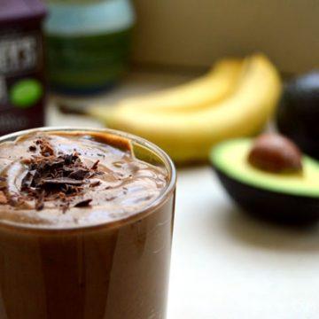 """Chocolate Avocado """"Milkshake"""""""