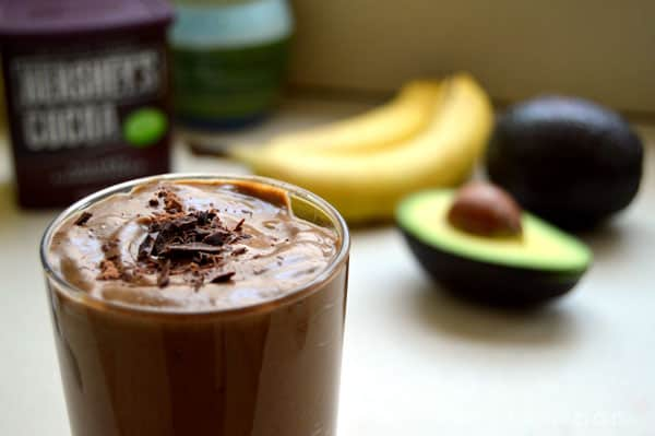 "Chocolate Avocado ""Milkshake"""
