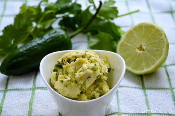 Jalapeño Lime Butter