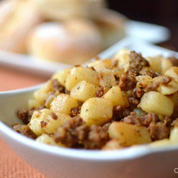 Sauteed Potatoes and Chorizo