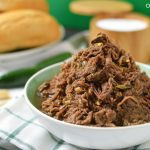 Slow Cooker Jalapeño Garlic Beef