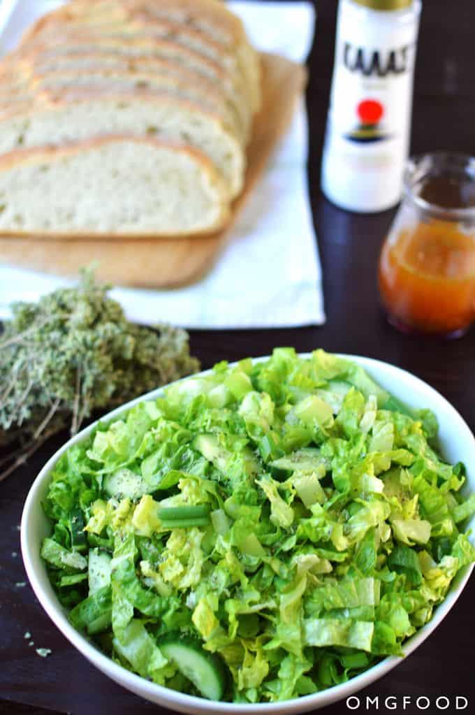 Maroulosalata (Romaine Salad)
