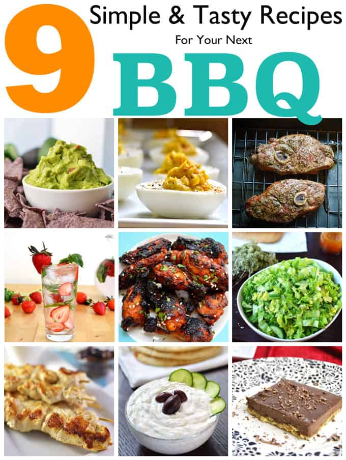 9 Simple & Tasty Recipes For Your Next BBQ