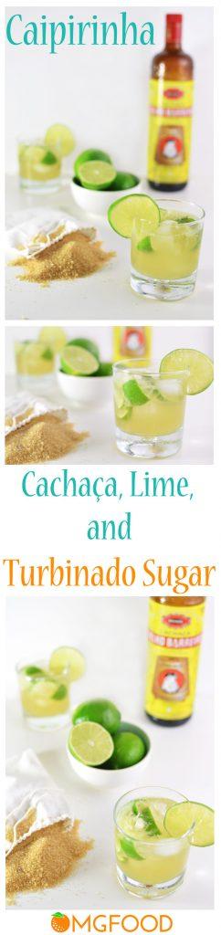 For a refreshing summer cocktail, have a caipirinha! A Brazilian cocktail made with fresh lime, turbinado sugar, and cachaça.