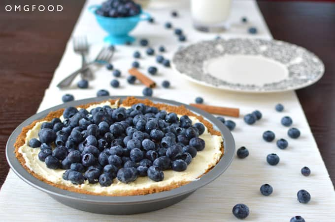 Blueberry Mascarpone Pie
