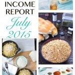 Traffic and Income Report – July 2015