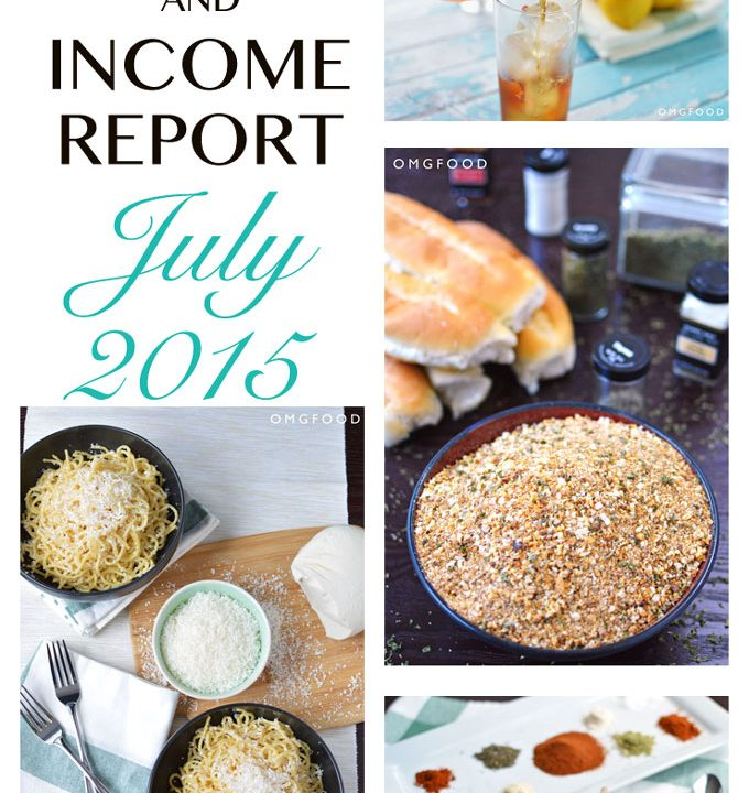 Traffic and Income Report July 2015