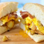 The Boott Mill Breakfast Sandwich - A copycat recipe of the best breakfast sandwich from Arthur's Diner. | omgfood.com
