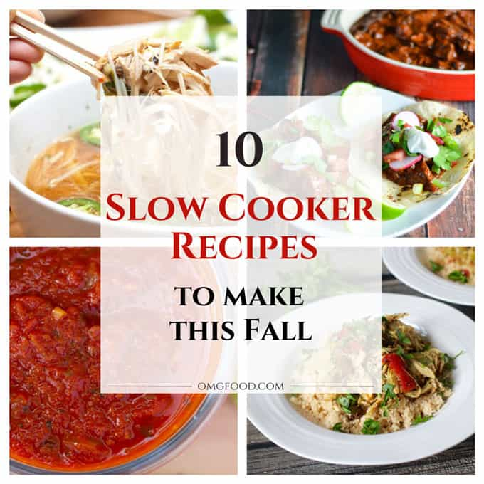 10 Slow Cooker Recipes to Make this Fall | omgfood.com