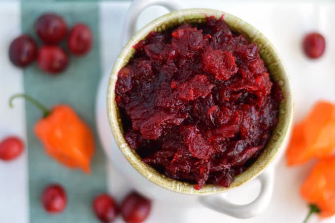 Cranberry Habanero Jelly