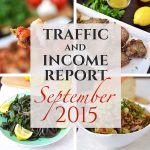 Traffic and Income Report – September 2015