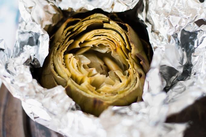 Roasted Artichokes | omgfood.com