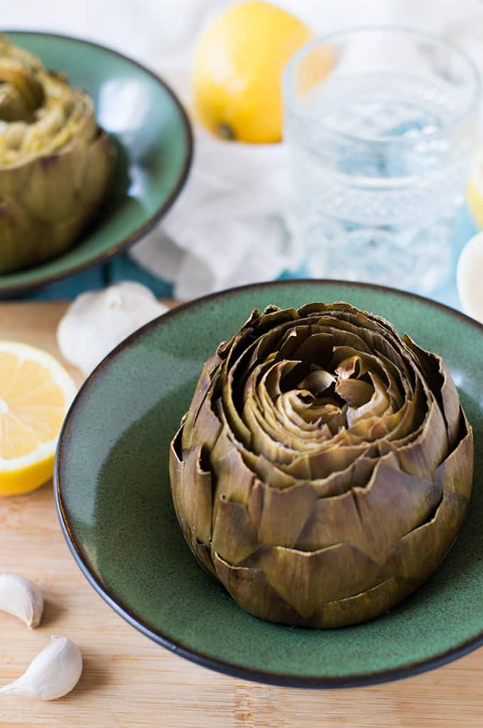 Roasted Artichokes | omgfood.com