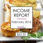 Traffic and Income Report - February 2016