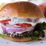 Lamb Burgers With Kasseri Cheese
