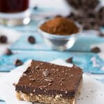 Chocolate Espresso Pie Bars | omgfood.com