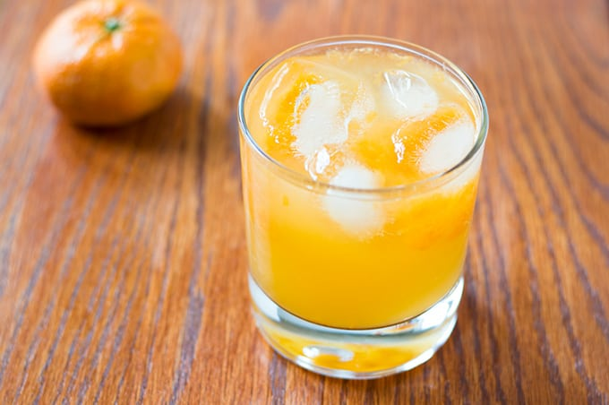Mandarin Orange Tequila Smash | omgfood.com