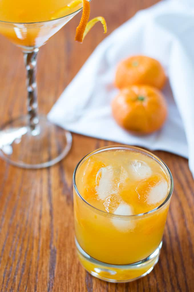 Mandarin Orange Tequila Smash | omgfood.com