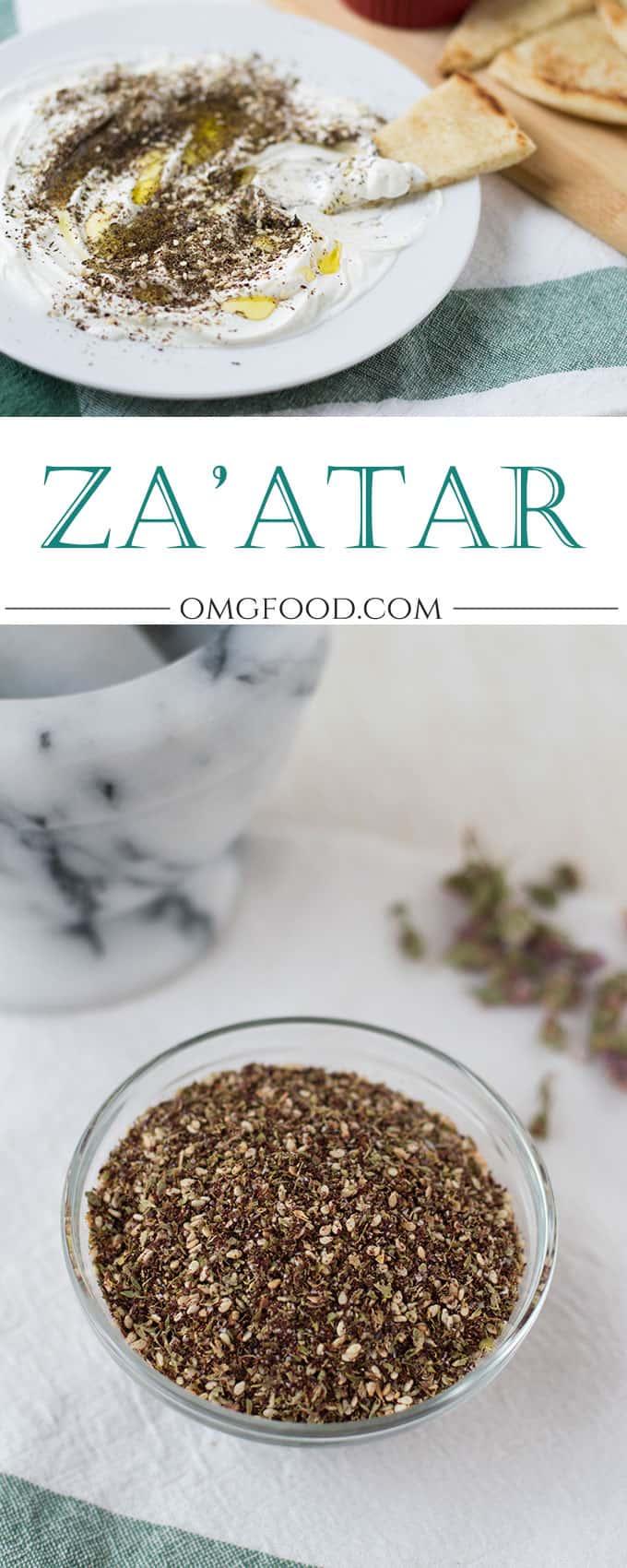 Za'atar | omgfood.com