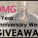 OMGfood 3-Year Anniversary Week + Giveaway!