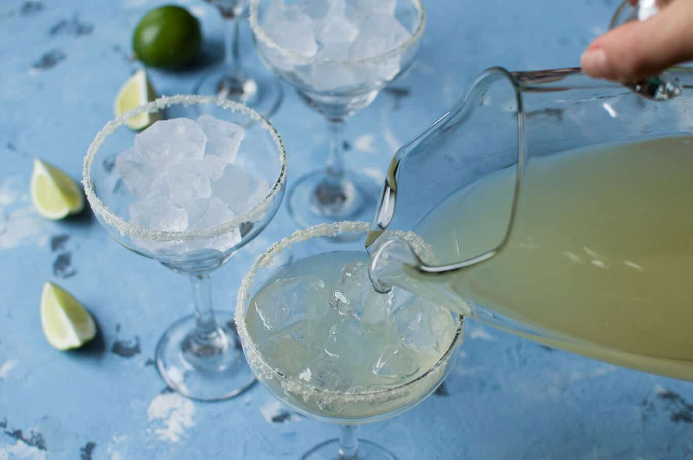 Celebrating Cinco de Mayo with Pitcher Margaritas | omgfood.com