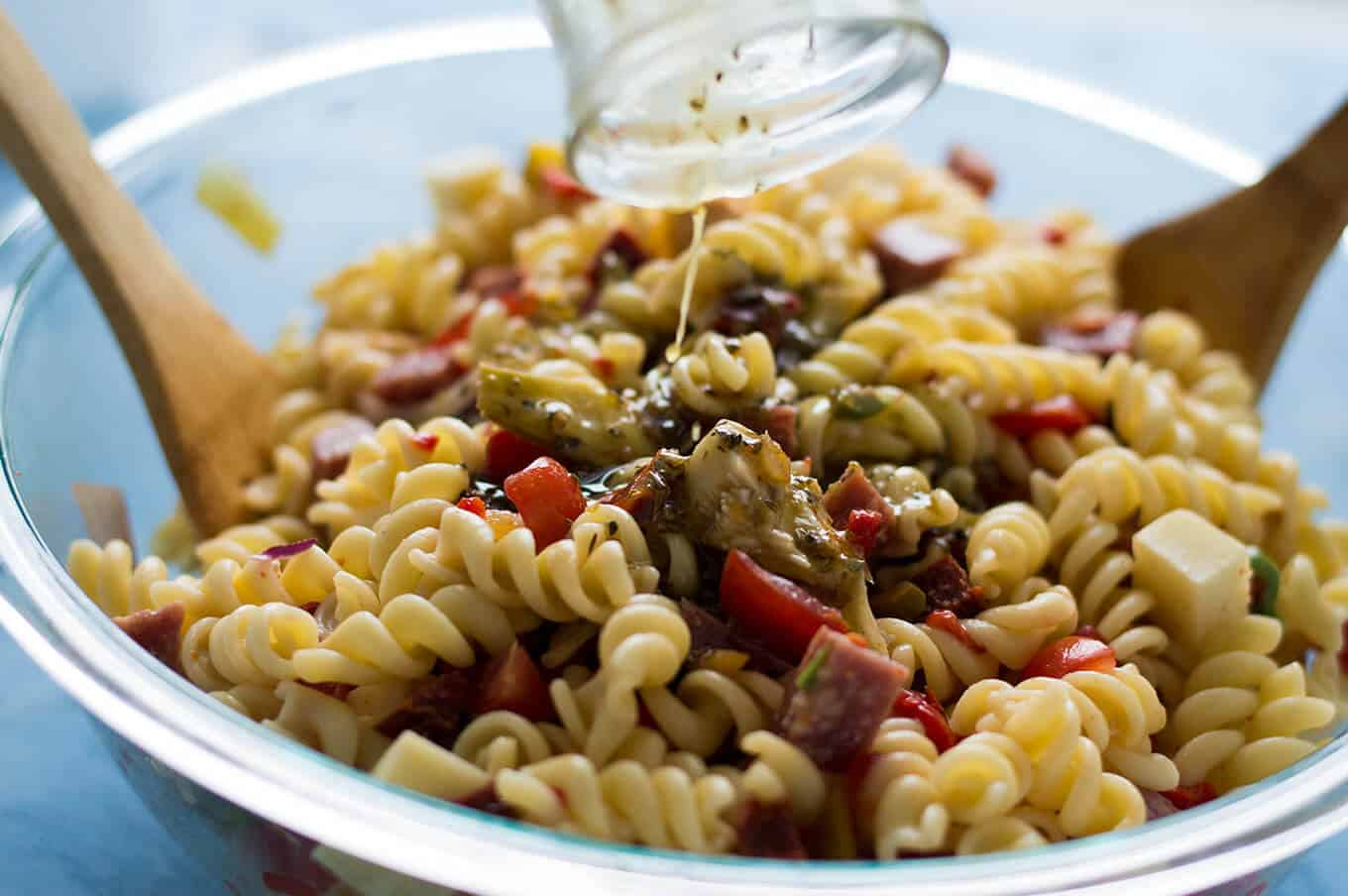 Antipasto Pasta Salad | omgfood.com