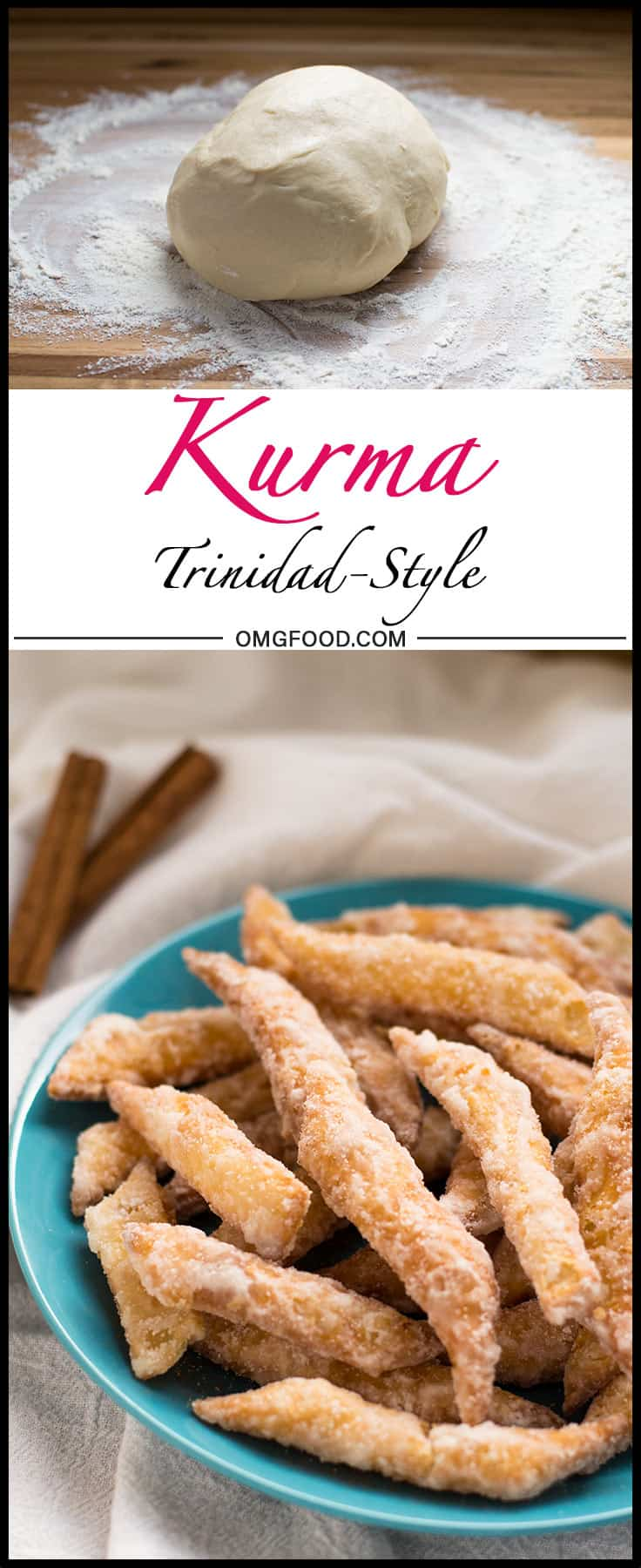 Trini Kurma Recipe + Tasty Adventures to Store Bay and Shore Things | omgfood.com