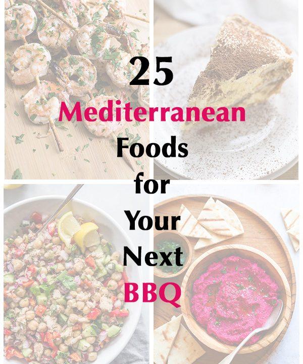 25 Mediterranean Foods for Your Next BBQ | omgfood.com
