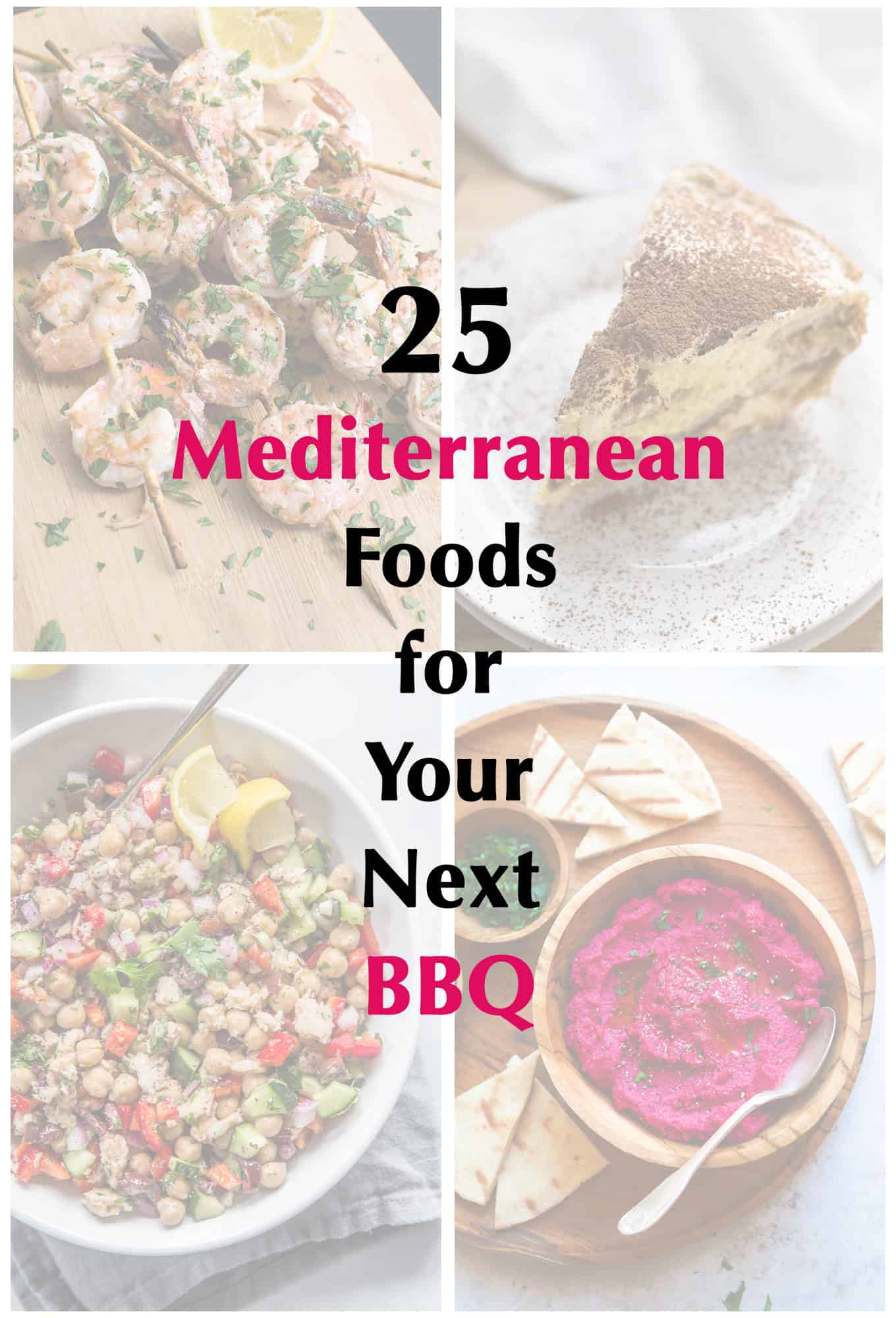 25 Mediterranean Foods for Your Next BBQ | omgfood.com