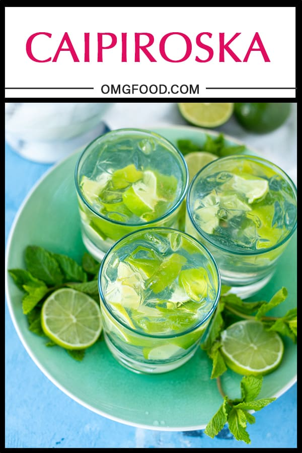 Caipiroska | omgfood.com