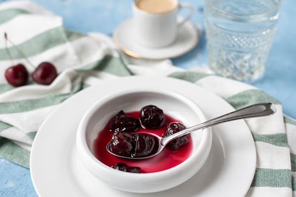 Glyko Kerasi (Cherry Spoon Sweet) | omgfood.com