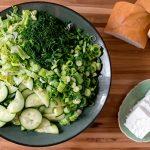 Maroulosalata (Greek Lettuce Salad)