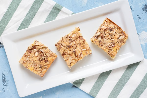 Dorie Greenspan's Swedish Visiting Cake Bars | omgfood.com