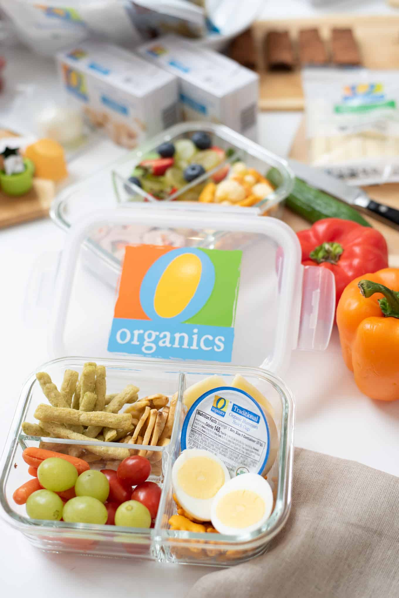 Tasty Snacking with O Organics® + 3 Bento Box Ideas | omgfood.com | AD #OOrganics