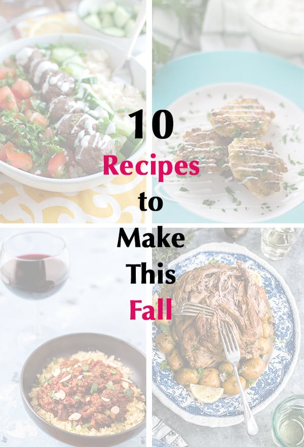 10 Recipes to Make This Fall