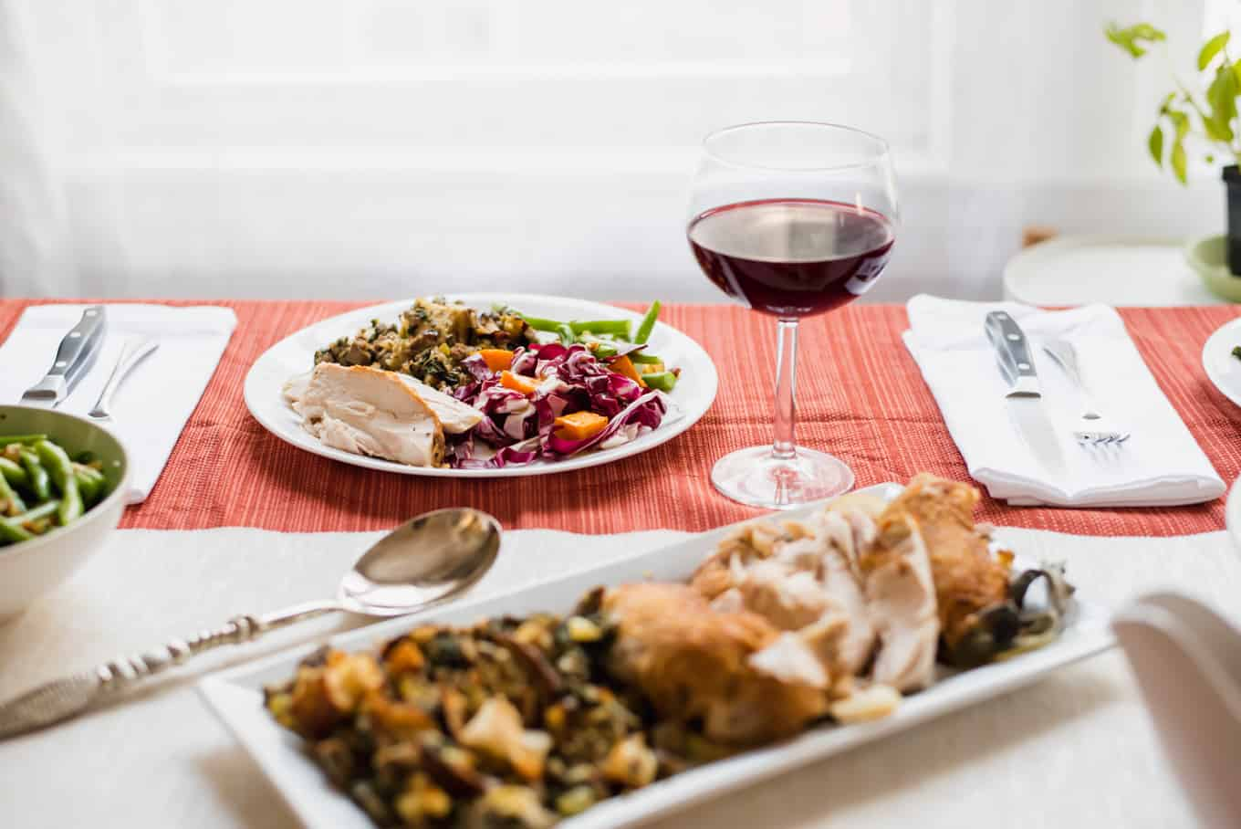 Julia Turshen's Radicchio + Roasted Squash Salad & Hosting a Stress-Free Thanksgiving | omgfood.com