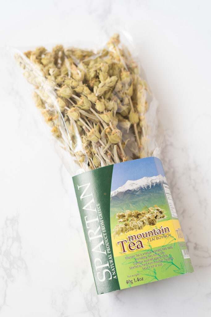 A package of mountain tea.